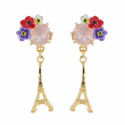 Eiffel Tower And Flowery...