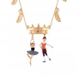 Colliers Collier Ballerine Cygne Noir, Prince Et Pampilles Plumes75,00€ AGBB302/1N2 by Les Néréides