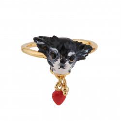 Bagues Ajustables Bague Ajustable Petit Chihuahua Et Cœur60,00€ AGLA604/1Les Néréides