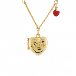 Colliers Pendentifs Collier Paris Cœur Secret