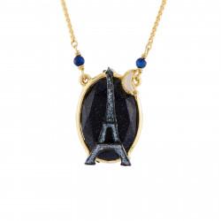 Colliers Pendentifs Collier Tour Eiffel Scintillante Au Clair De Lune