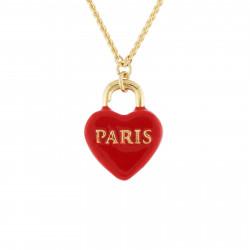 Colliers Pendentifs Collier Cadenas Cœur Paris