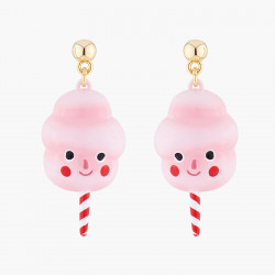 Candy Floss Stud Earrings