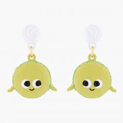 Boucles D'oreilles Originales Boucles D'oreilles Tiges Macaron Joyeux65,00€ ALHG109T/1N2 by Les Néréides