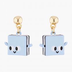 Boucles D'oreilles Originales Boucles D'oreilles Tiges Réglisses Sourires65,00€ ALHG112T/1N2 by Les Néréides