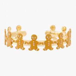 Bracelets Originaux Bracelet Jonc Petit Bonhomme En Pain D'épices75,00€ ALHG203/1N2 by Les Néréides