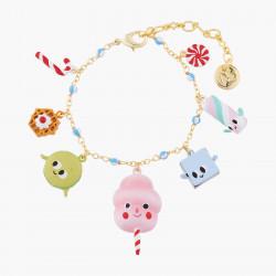 Bracelets Bracelet Charm's Gourmandises Joyeuses80,00€ ALHG204/1N2 by Les Néréides
