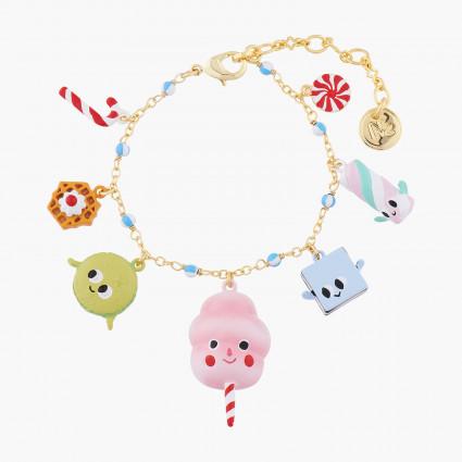 Bracelets Originaux Bracelet Charm's Gourmandises Joyeuses80,00€ ALHG204/1N2 by Les Néréides