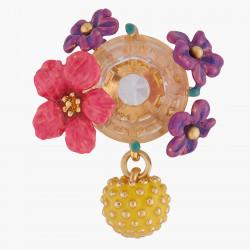 Boucles D'oreilles Pendantes Boucles D'oreilles Tiges Fleurs Et Mimosa140,00€ ALPE104T/1Les Néréides