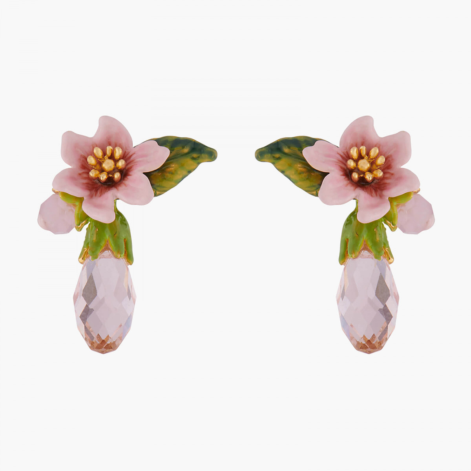 Boucles D'oreilles Tiges Boucles D'oreilles Fleur De Citronnier95,00€ ALPE105T/1Les Néréides