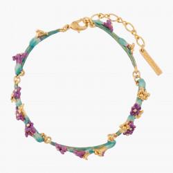 Lavender Sprig Thin Bracelet
