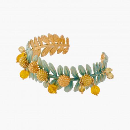 Bracelet papillon et verre taillé