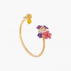 Bracelets Jonc Bracelet Jonc Fleurs Et Citron130,00€ ALPE206/1Les Néréides