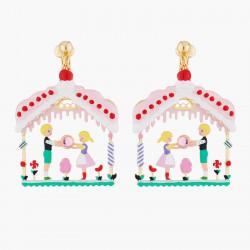 Boucles D'oreilles Boucles D'oreilles Clips Hansel Et Gretel Dans La Maison Sucrée90,00€ ALHG106C/1N2 by Les Néréides