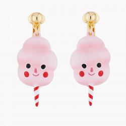 Boucles D'oreilles Originales Boucles D'oreilles Clips Barbe À Papa85,00€ ALHG108C/1N2 by Les Néréides