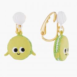 Boucles D'oreilles Boucles D'oreilles Clips Macaron Joyeux65,00€ ALHG109C/1N2 by Les Néréides