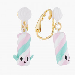 Little rabbit clip earrings
