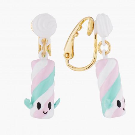 Boucles d'oreilles clip petits lapins