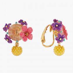 Boucles D'oreilles Clip Boucles D'oreilles Clip Fleurs Et Mimosa140,00€ ALPE104C/1Les Néréides