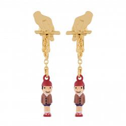 Boucles D'oreilles Boucles D'oreilles Clip Pinocchio La Marionnette