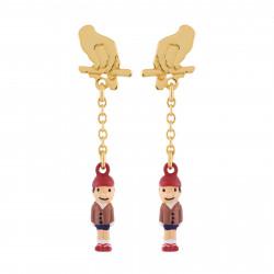 Boucles D'oreilles Boucles D'oreilles Pinocchio La Marionnette45,00€ AHIL102T/1N2 by Les Néréides