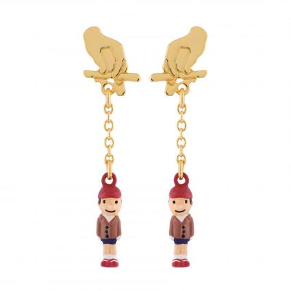 Boucles D'oreilles Boucles D'oreilles Pinocchio La Marionnette
