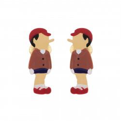 Boucles D'oreilles Boucles D'oreilles Clip Pinocchio40,00€ AHIL104C/1N2 by Les Néréides