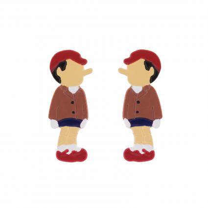 Boucles D'oreilles Boucles D'oreilles Pinocchio40,00€ AHIL104T/1N2 by Les Néréides