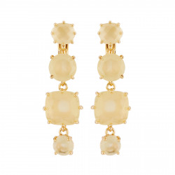 Clip-on Earrings With 4...