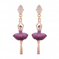 Aurore purple double row luxurious bracelet