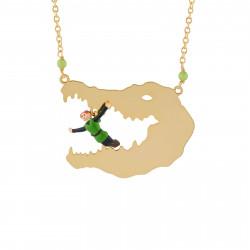 Colliers Sautoir Peter Pan Dans La Gueule Du Crocodile