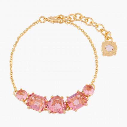 Bracelets Fins Bracelet Fin 5 Pierres La Diamantine Rose Pêche80,00€ ALLD214/1Les Néréides