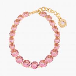 Bracelets Fins Bracelet Fin Pierres Rondes La Diamantine Rose Pêche130,00€ ALLD252/1Les Néréides