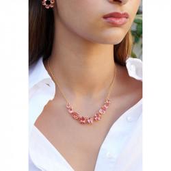 Colliers Fins Collier Fin 9 Pierres La Diamantine Rose Pêche120,00€ ALLD318/1Les Néréides