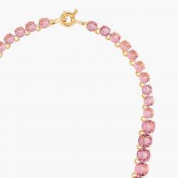 Colliers Ras De Cou Collier Ras De Cou Pierres Rondes La Diamantine Rose Pêche300,00€ ALLD332/1Les Néréides