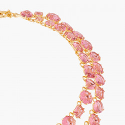Colliers Plastrons Collier Deux Rangs La Diamantine Rose Pêche590,00€ ALLD355/1Les Néréides