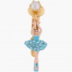 Boucles D'oreilles Clip Boucles D'oreilles Clips Mini Ballerine Tutu Cristaux Aquamarine80,00€ ALMDD101C/16Les Néréides