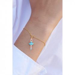 Bracelets Fins Bracelet Mini Ballerine Tutu Cristaux Aquamarine60,00€ ALMDD201/16Les Néréides