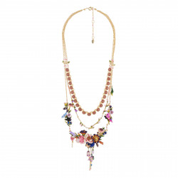 Colliers Plastrons Exclusivité Web: Collier Couture 3 Rangs Bouquet D'un Jardin De Giverny0,00 € AGHI301/1Les Néréides