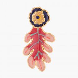 Boucles D'oreilles Originales Boucles D'oreilles Tiges Feuille De Chêne Modulable90,00€ ALBE105T/1N2 by Les Néréides