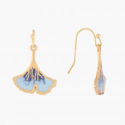 Boucles D'oreilles Boucle D'oreille Hook Gingko Bleu55,00€ ALBE108H/1N2 by Les Néréides