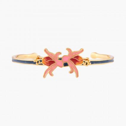 5 marbled stones bracelet