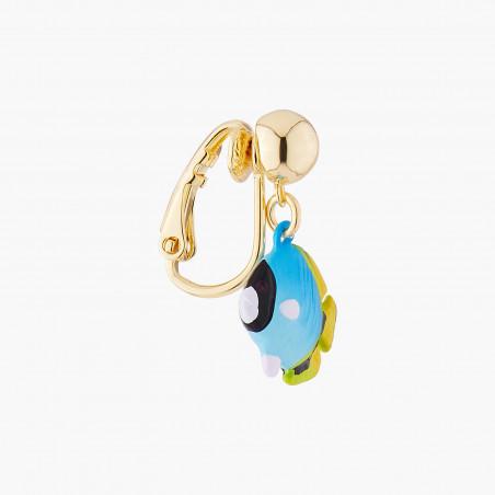 Collier luxe ras de cou pierres rondes marbrées