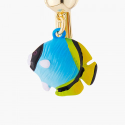 Boucles D'oreilles Originales Boucle D'oreille Clip Poisson Bleu29,00€ ALCH102C/1N2 by Les Néréides
