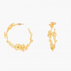 Boucles D'oreilles Creoles Créoles Tiges Trèfles140,00€ ALFC103T/1Les Néréides