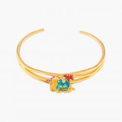 Bracelets Jonc Bracelet Jonc Cheval Des Mers Et Cristal Bleu Lagon160,00€ ALPC201/1Les Néréides