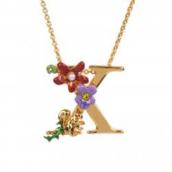 Colliers Pendentifs Collier Alphabet Fleuri Lettre X95,00€ VAL324/1Les Néréides