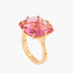 Bague Solitaire Bague Solitaire Pierre Carrée Rose Pêche La Diamantine Multicolore60,00€ AKLD602/1Les Néréides