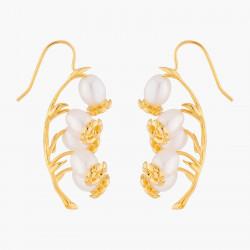 Boucles D'oreilles Pendantes Boucles D'oreilles Hook Fleur De Muguet190,00€ ALFB107T/1Les Néréides