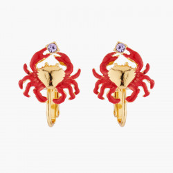 Little Crab Clip On Earrings